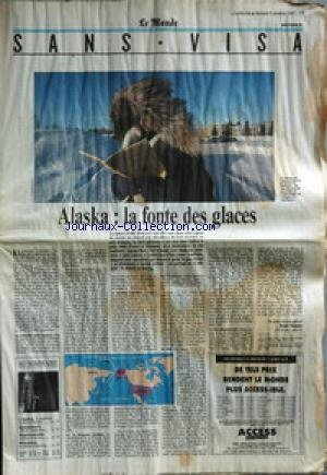 monde-le-du-05-10-1991-alaska-la-fonte-des-glaces-par-benoit-hocquin
