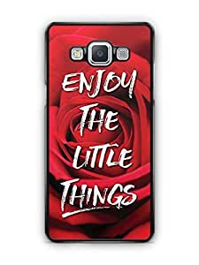 YuBingo Enjoy The Little Things Designer Mobile Case Back Cover for Samsung Galaxy A5