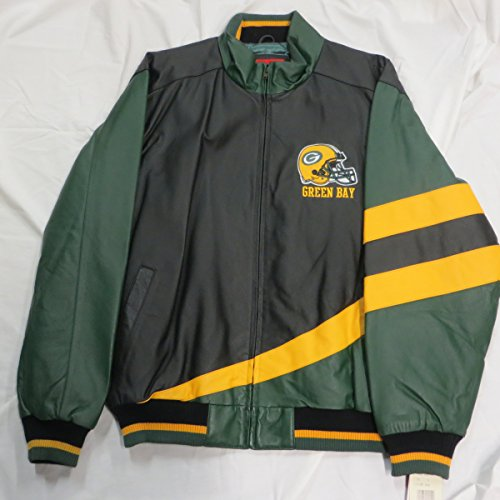 Green bay packers leather jackets