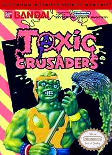 Toxic Crusaders - Nintendo Nes back-267219