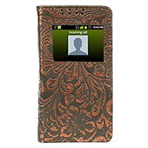 D.rD Flip Cover with screen Display Cut Outs designed for Nokia Lumia XL