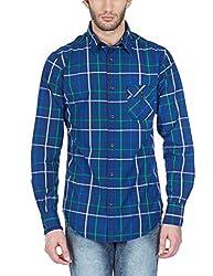 BanditBlue CxAdults-MenCasualSlim fitShirts