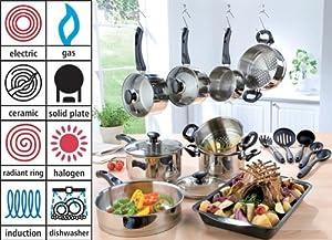 Russell Hobbs 9-Piece Cookware Set