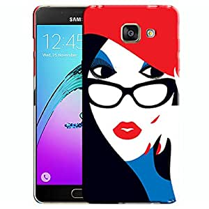 Theskinmantra Call me Samsung Galaxy A7 (2016 Edition) Mobile back cover