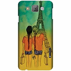 Printland Back Cover For Samsung Galaxy E7 - Abstract Art Designer Cases