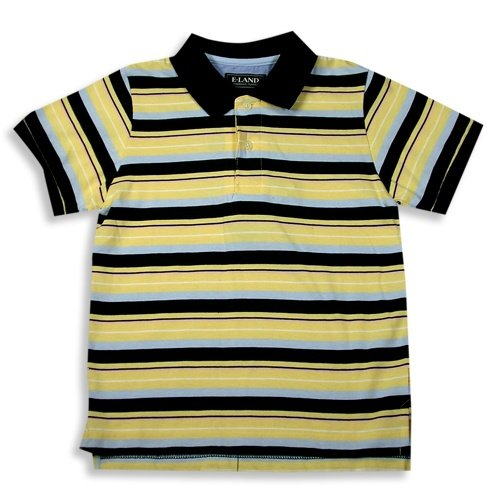 E-Land - Boys Short Sleeved Polo Shirt, Yellow, Blue - Buy E-Land - Boys Short Sleeved Polo Shirt, Yellow, Blue - Purchase E-Land - Boys Short Sleeved Polo Shirt, Yellow, Blue (E-land Kids, E-land Kids Boys Shirts, Apparel, Departments, Kids & Baby, Boys, Shirts, T-Shirts, Short-Sleeve, Short-Sleeve T-Shirts, Boys Short-Sleeve T-Shirts)