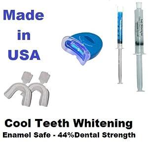 Teeth Whitening Light Kit with Photo Initiator gel of 44%