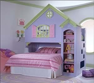 Tradewins Doll House Wood Loft Bunk Bed