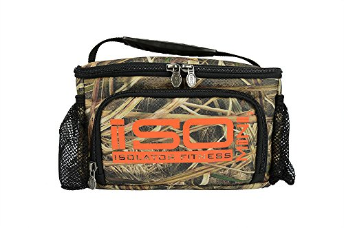IsoMini Meal Management System-Mossy Oak Blades Edition/Isolator Fitness-Insulated Lunch Box/Lunch Bag - 1