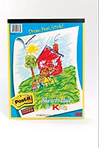 Post-it Super Sticky Portrait Sketch Pad, 25 Sheets (562-K2)