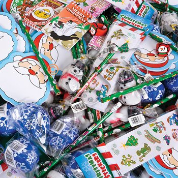 CHRISTMAS Toys and Novelty assortment (50 pc) - 1