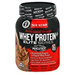 Six Star Pro Nutrition Elite Series Whey Protein Plus, Professional Strength, Triple Chocolate, 2 lb.
