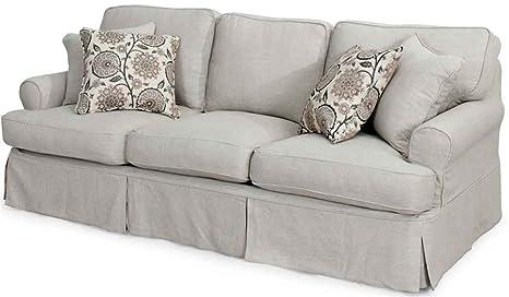 Horizon Sofa - Slip Cover Set Only - Light Gray