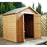 Shiplap OSB Apex Shed with Double Door