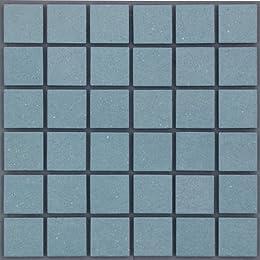 46mm角床用無釉モザイクタイル 46-MAU-36S1シート 表紙張り