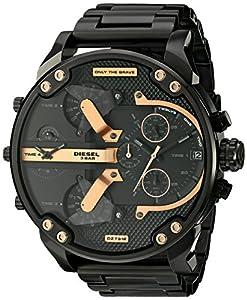 Reloj Diesel Mr. Daddy Dz7312 Hombre Negro