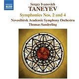 Taneiev : Symphonies n° 2 et n° 4