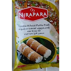 Amazon.com : Nirapara Samba Wheat Puttu Podi : Wheat Flours And Meals