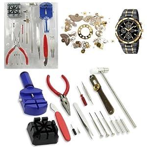 Phone Links - Juego de 16 herramientas de reparación de relojes