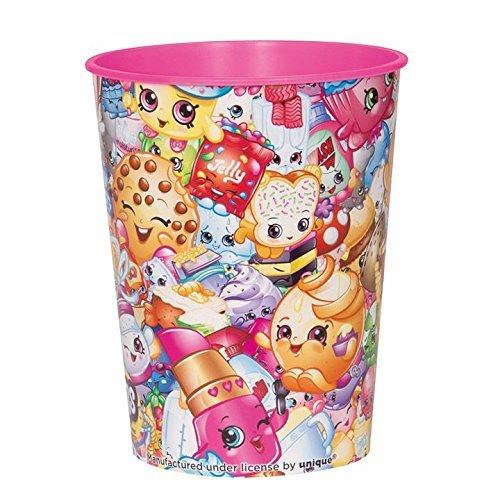 Shopkins 16oz. Plastic Favor Cup (Each) by Unique Industries