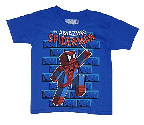 Marvel The AMAZING SPIDER-MAN Little Boys' Tee T-Shirt