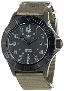 Buy Glycine Mens 3863-99AT9-TB2 Combat Sub Stealth Stainless Steel Automatic Dive Watch by Glycine