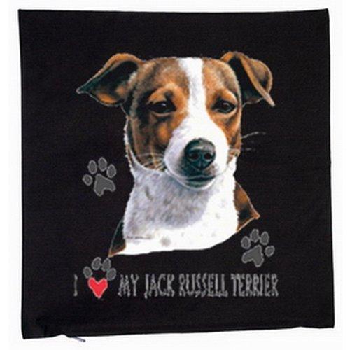 Kissen-mit-Innenkissen-Jack-Russel-Terrier-Hunde-Hundebesitzer-Geschenk-mit-40x40cm-in-schwarz