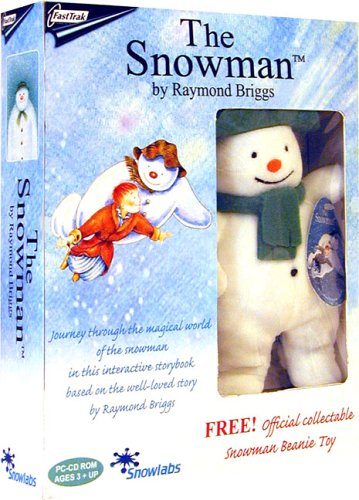The Snowman Interactive Storybook with FREE Snowman Soft Toy