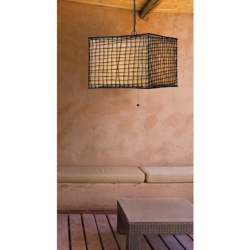 Kenroy Home 93399BRZ Trellis 1-Light Pendant, Bronze