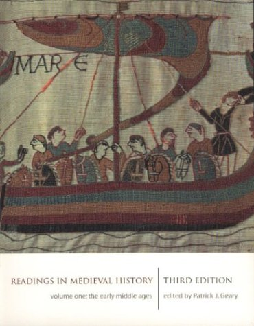 1: Readings in Medieval History 3/e Volume I: The Early Middle Ages