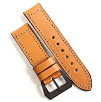 Pre-V by Mario Paci in Tan with PVD buckle with buckle 24/24 115/75