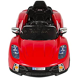 Best Choice Products Kids 12V Ride On Car with MP3 Electric Battery Power, Red from Best Choice Products