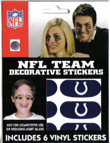 Indianapolis Colts Decorative Stickers - Buy Indianapolis Colts Decorative Stickers - Purchase Indianapolis Colts Decorative Stickers (The Party Animal, Inc., Home & Garden,Categories,Patio Lawn & Garden,Outdoor Decor,Banners & Flags)