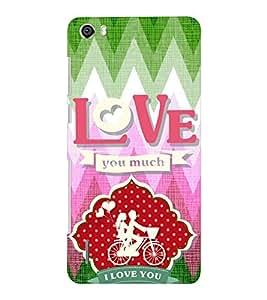 EPICCASE ride love Mobile Back Case Cover For Huawei Honor 6 Plus (Designer Case)