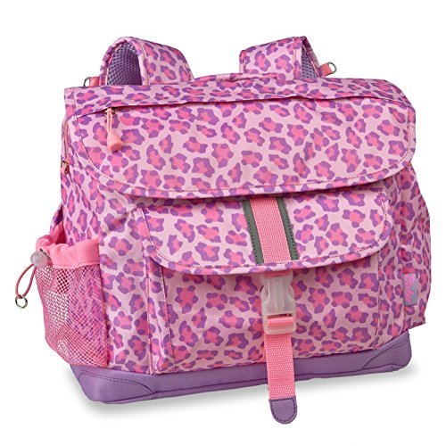 bixbee-sassy-spots-leopard-backpack-pink-medium