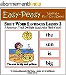 Sight Word Sentences Lesson 2: 5 Sent...