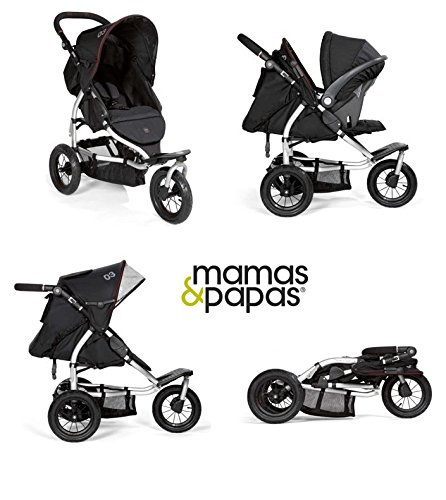 Mamas And Papas 03 Sport Stroller In Black