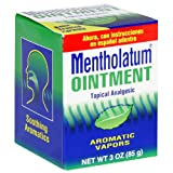 Mentholatum Ointment, 3-Ounce (85 g) (Pack of 4)