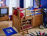 Lea Austin Low Loft Bed
