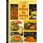 A table ! Un million de menus