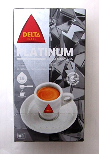 Find DELTA Timor / Platinium / Decaf - 16 x 4 = 64 ESE Single servings - or PiCK'n'MiX - Delta Cafés, S.A.