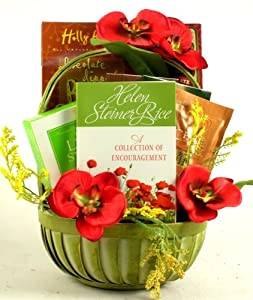 Simple Encouragement Special Occasion Uplifting Gift Basket   Sympathy Gift Basket