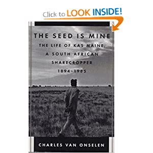 Amazon.com: The Seed Is Mine: The Life of Kas Maine, a South ...