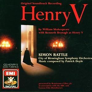 Doyle Henry V Original Soundtrack Soundtrack from EMI