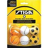 Stiga 1-Star Sport Table Tennis Balls (6 Pack) , 40 MM (One 6 Pack)/