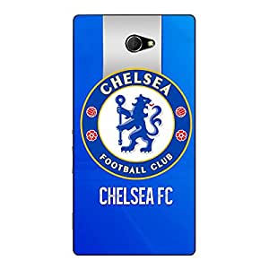 Jugaaduu Chelsea Back Cover Case For Sony Xperia M2 Dual
