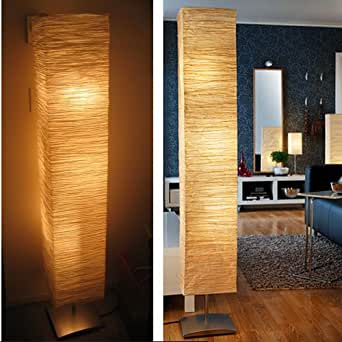 Rice Paper Shade Asian Floor Mood Lamp Paper Lantern