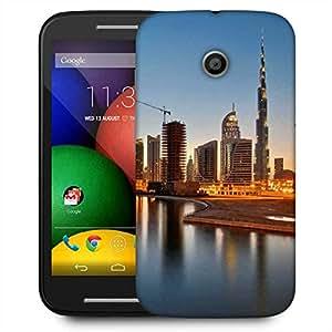 Snoogg Dubai The Dream City Designer Protective Phone Back Case Cover For Motorola E2 / MOTO E22