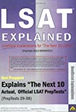 LSAT Explained: Unofficial Explanations for