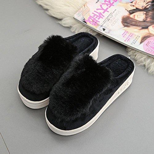 zzhh-pendio-di-baotou-pantofole-con-le-pantofole-del-cotone-delle-signore-spesse-black-38